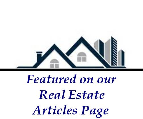 Featured on our Real Estate Articles Page