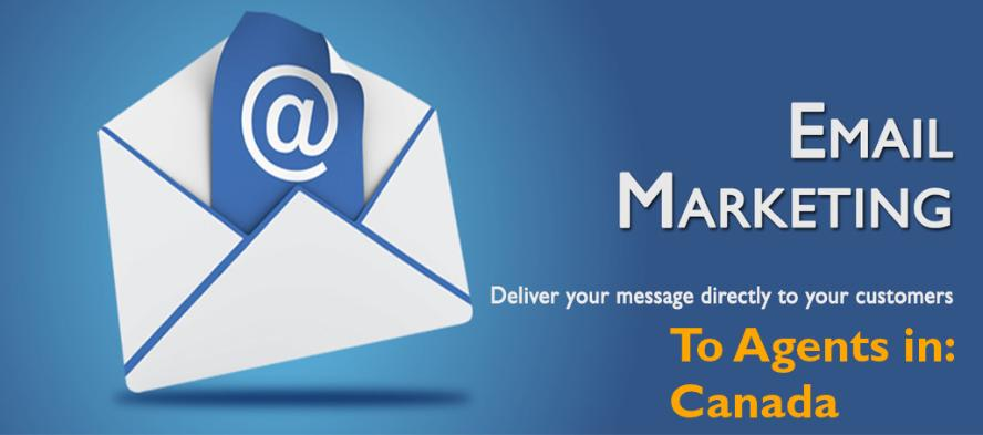 Email Marketing To Agents in Canada